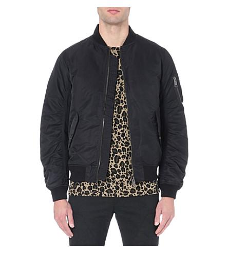CARHARTT Ashton bomber jacket (Black