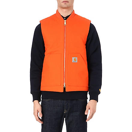 CARHARTT Cotton gilet (Orange