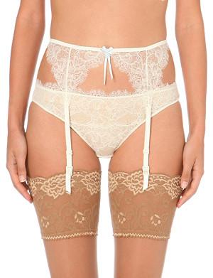 HEIDI KLUM INTIMATES Valerie lace suspenders