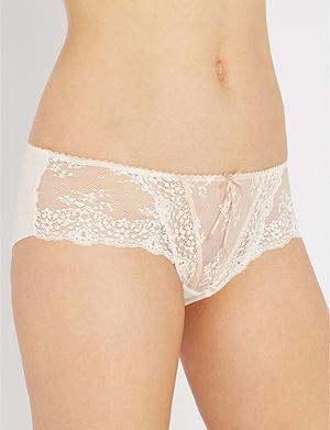HEIDI KLUM INTIMATES Sofia lace culotte briefs