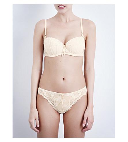 HEIDI KLUM INTIMATES Heidi lace balconette contour bra (Dew/+cream+tan