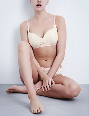 0e264f5f31c0d HEIDI KLUM INTIMATES - Sabine lace maternity bra