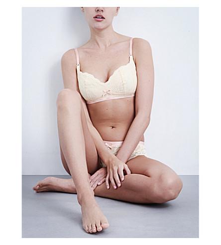 HEIDI KLUM INTIMATES Madeline lace maternity bra (Vintage cream
