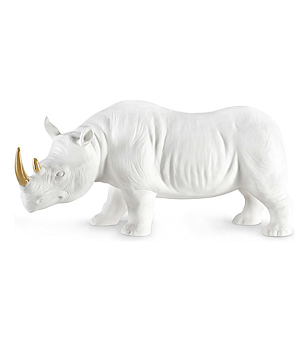 AVERY CERAMIC Ceramic rhino 25 cm