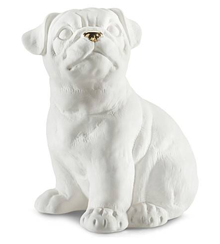 AVERY CERAMIC Ceramic pug dog 14cm
