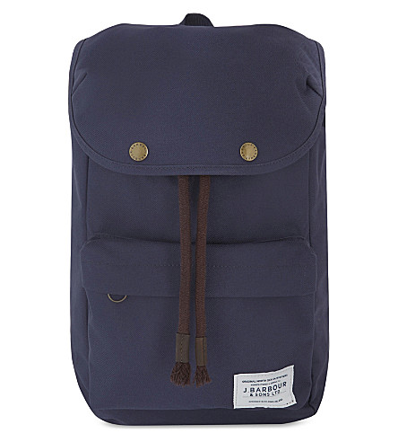 BARBOUR Navigator backpack (Navy