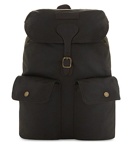BARBOUR Beaufort canvas backpack (Olive