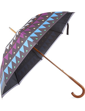 DAVID DAVID Walking stick double-canopy umbrella 2