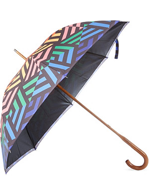 DAVID DAVID Walking stick double-canopy umbrella 4