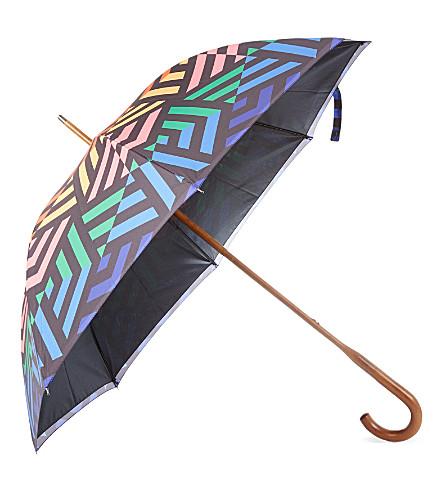 DAVID DAVID Walking stick double-canopy umbrella 4 (4