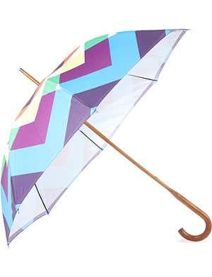 DAVID DAVID Walking stick double-canopy umbrella 5