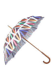 DAVID DAVID Walking stick double-canopy umbrella 8