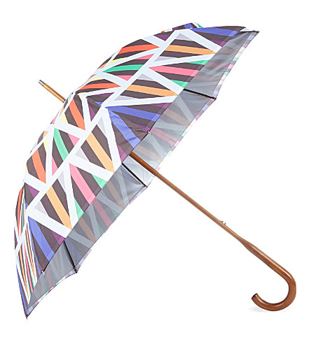 DAVID DAVID Walking stick double-canopy umbrella 8 (8