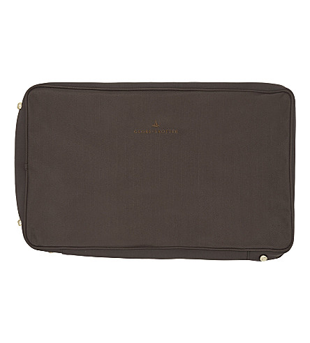GLOBE-TROTTER Suitcase cover 28'' (Brown