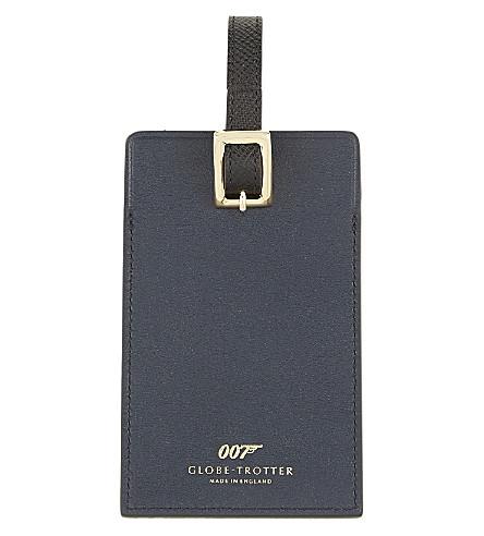 GLOBE-TROTTER 007 luggage tag (Navbl