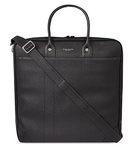 GLOBE-TROTTER Jet Boston flight bag (Black