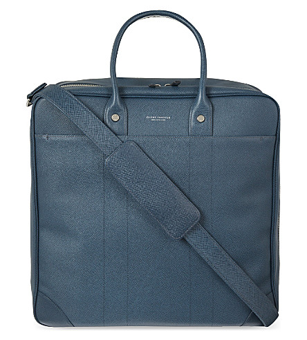 GLOBE-TROTTER Jet Boston flight bag (Navy