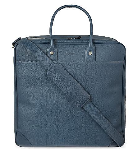 GLOBE-TROTTER Jet Boston flight bag (Navy