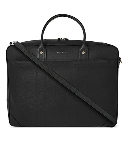 GLOBE-TROTTER Jet Boston overnight bag (Black