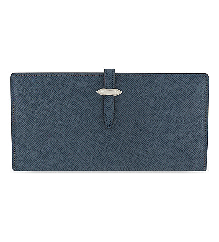 GLOBE-TROTTER Jet travel wallet (Navy
