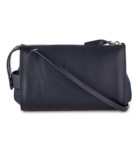 GLOBE-TROTTER Propeller mini Gladstone cross-body bag (Navy