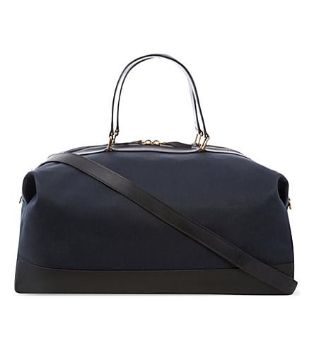 GLOBE-TROTTER Propellor weekend bag (Navy