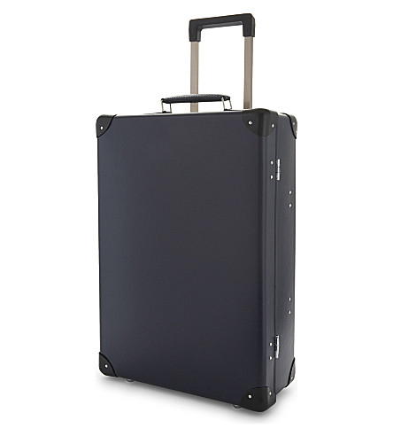 "GLOBE-TROTTER Original 20"" trolley case (Navy+and+black"