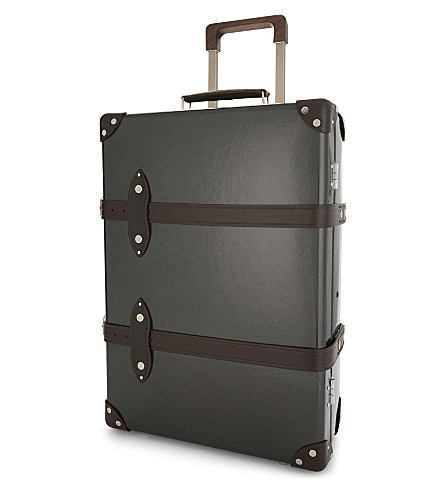 GLOBE-TROTTER Royale two wheel trolley case 55cm (Caviar