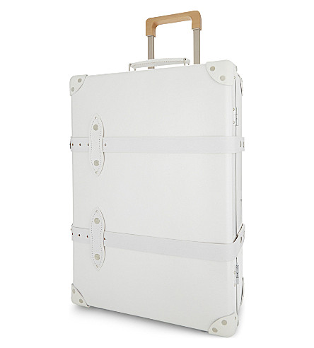 GLOBE-TROTTER Royale two wheel trolley case 55cm (Pearl