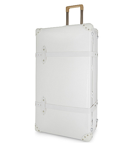 GLOBE-TROTTER Royale two wheel extra deep trolley case 81cm (Pearl