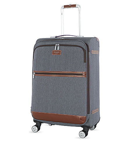 TED BAKER Medium four wheel case (Gry
