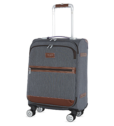 TED BAKER Four wheel suitcase trolley (Gry