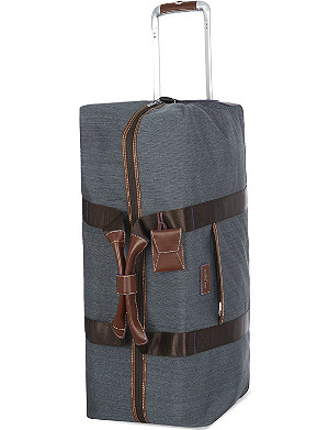 TED BAKER Two-wheel large trolley duffle bag