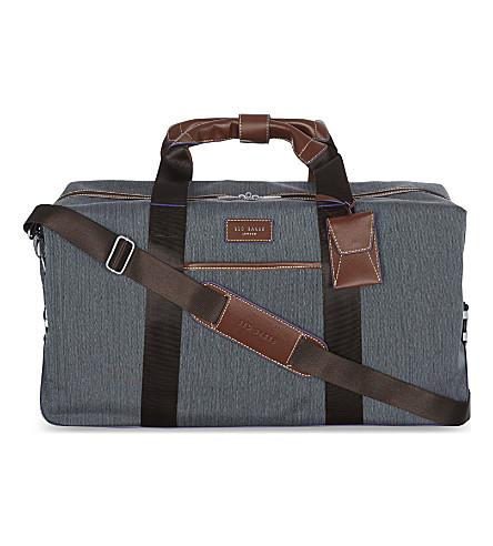 TED BAKER Clipper medium duffle bag (Gry