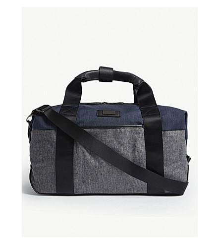 Brunswick Holdall BAKER blu Gry Clipper pequeño TED ExqHO4U4