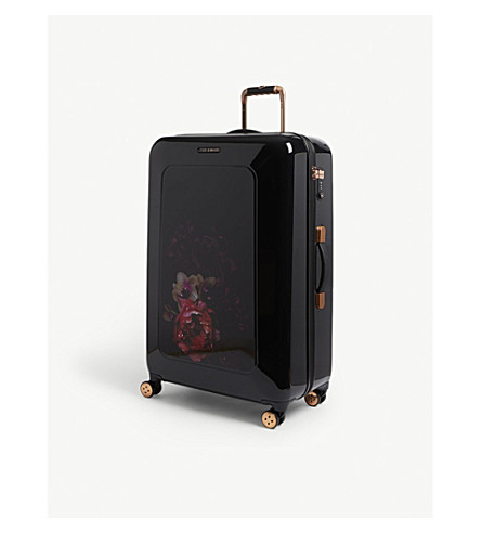 TED BAKER Take Flight four-wheel suitcase 80cm (Black