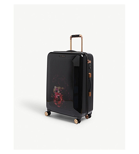 TED BAKER Take Flight four-wheel suitcase 70cm (Black