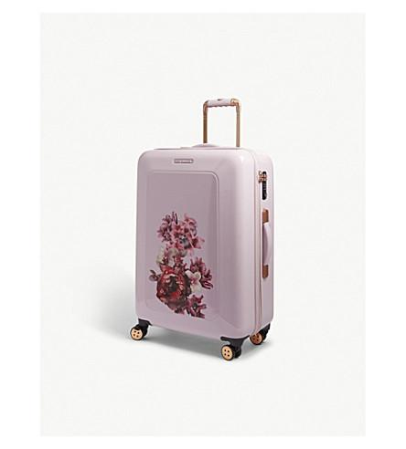 TED BAKER Take Flight four-wheel suitcase 70cm (Pink