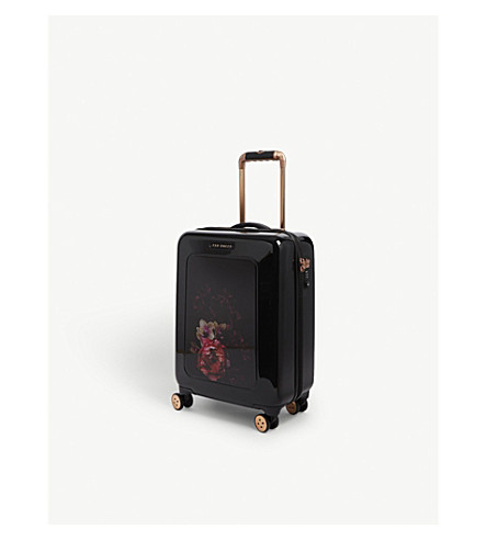 TED BAKER Take Flight four-wheel cabin suitcase 54cm (Black