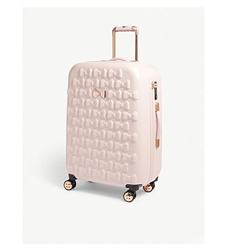 TED BAKER Beau medium four-wheel suitcase 68cm (Pink
