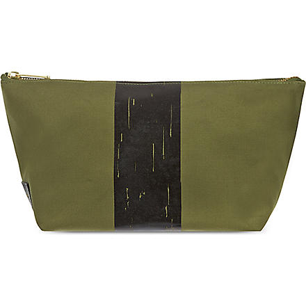 RICHARD JAMES Molton Canvas pouch (Olive
