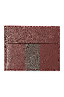 RICHARD JAMES Leather card holder