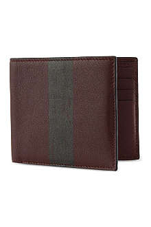 RICHARD JAMES Burgundy billfold wallet