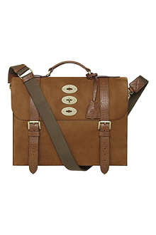 MULBERRY Ted vintage leather satchel