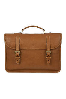 MULBERRY Elkington natural leather briefcase