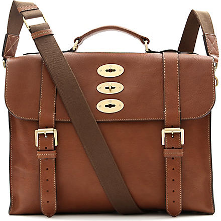 MULBERRY Ted natural leather bag (Oak