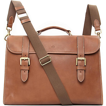 MULBERRY Walter briefcase (Oak