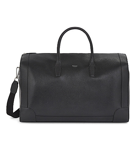 MULBERRY Belgrave leather holdall (Black