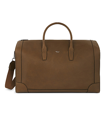 MULBERRY Belgrave leather holdall (Oak