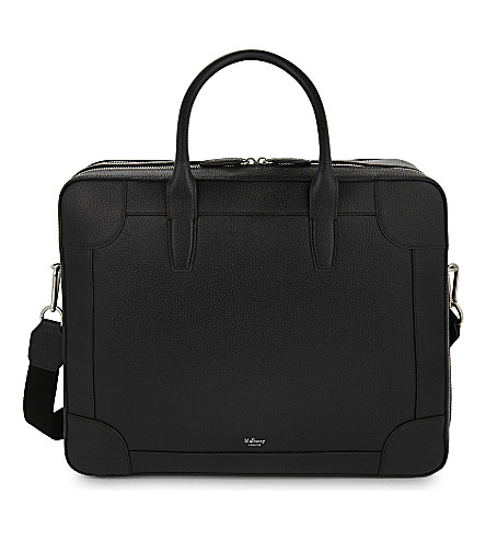 MULBERRY Belgrave leather 24 hour bag (Black